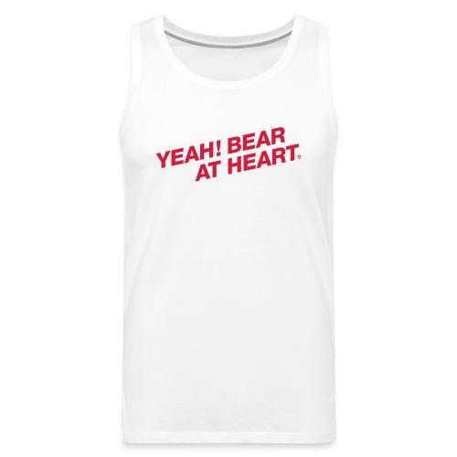 Yeah Bear at Heart #2 - Männer Premium Tank Top