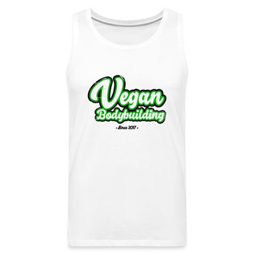 Vegan Bodybuilding -design - Miesten premium hihaton paita
