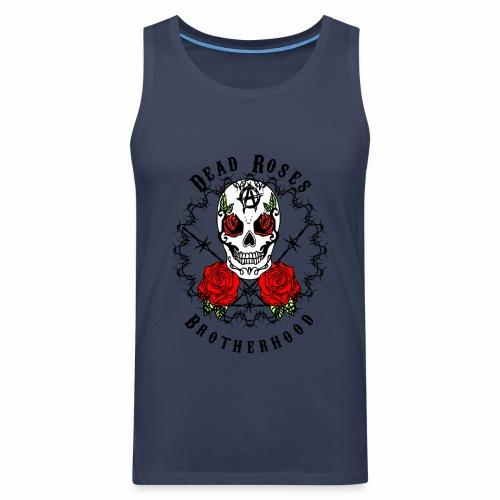 Dead Roses 2nd Logo - Men's Premium Tank Top