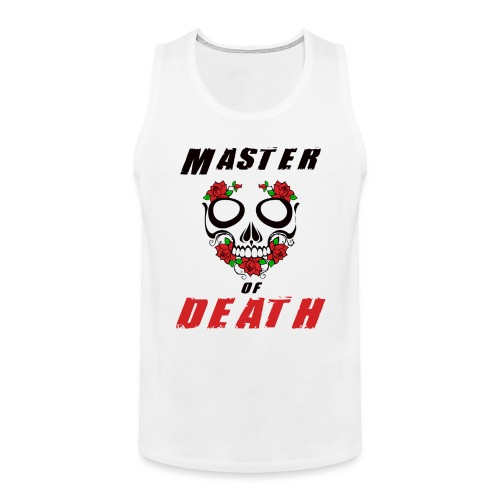 Master of death - black - Tank top męski Premium