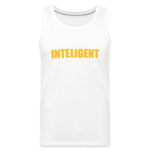 inteligent design - Premiumtanktopp herr