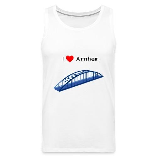 Arnhem, John Frostbrug - Mannen Premium tank top