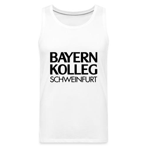 bayern kolleg schweinfurt - Männer Premium Tank Top