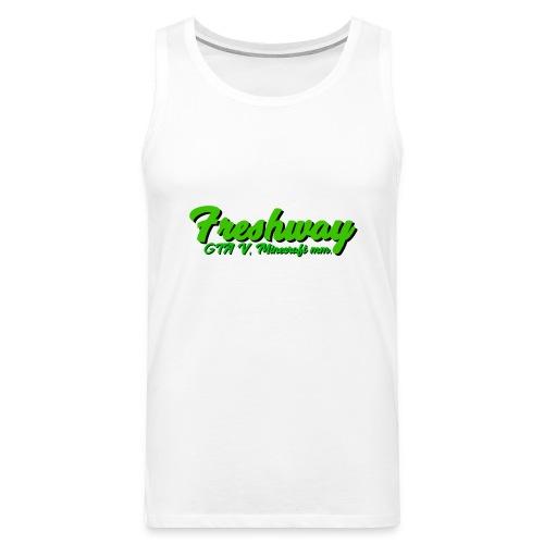 freshway w Slogan - Premiumtanktopp herr