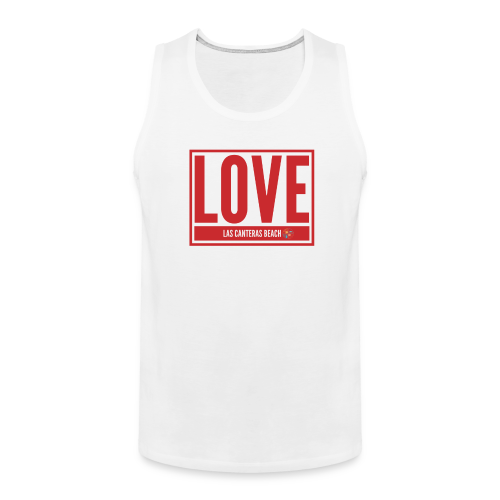 Love Las Canteras - Tank top premium hombre