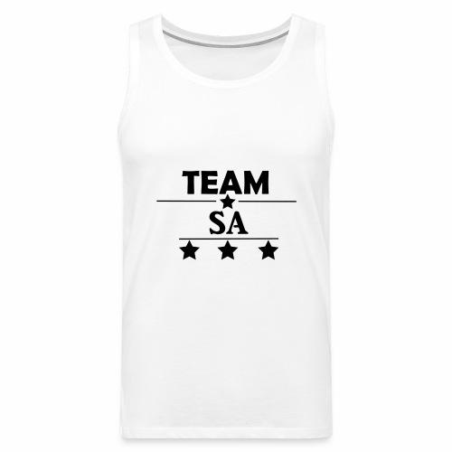 Team SA Logo - Premiumtanktopp herr