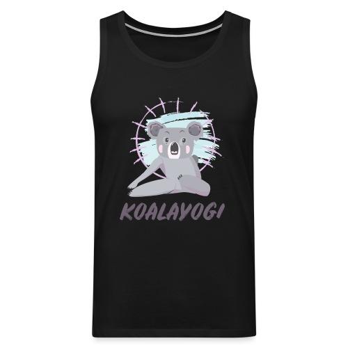 Koalayogi - Premium singlet for menn