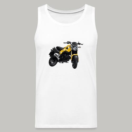 Grom Motorcycle (Monkey Bike) - Men's Premium Tank Top