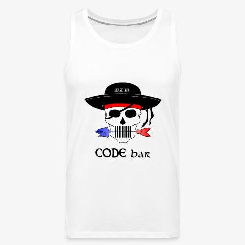 Code Bar couleur - Débardeur Premium Homme