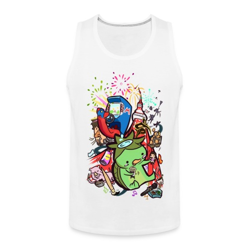 t shirt design best of 2012 by toen d5qaap9 png - Mannen Premium tank top