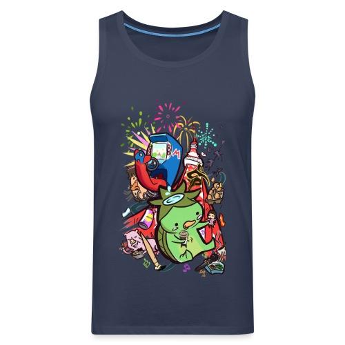 t shirt design best of 2012 by toen d5qaap9 png - Mannen Premium tank top
