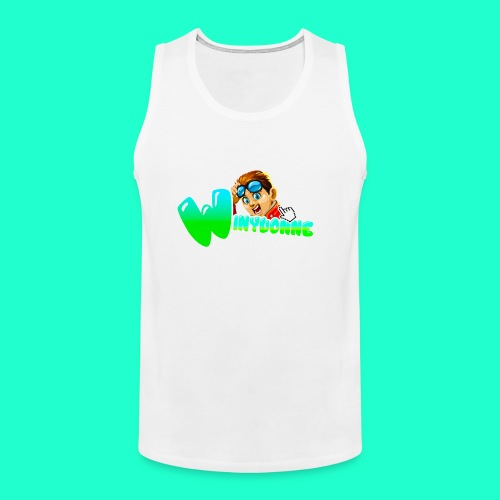 Character ^^ - Men's Premium Tank Top