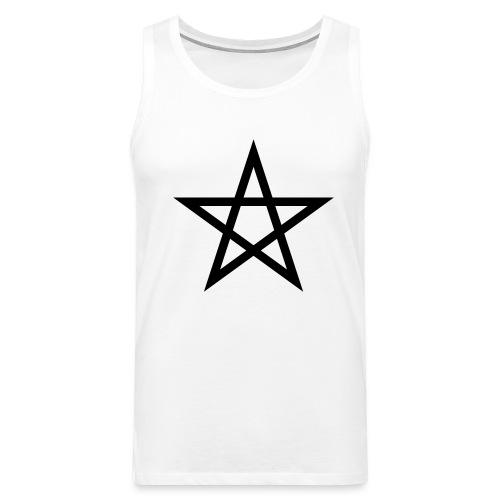 Pentagramme Wicca - Débardeur Premium Homme
