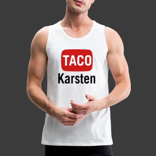 Taco Karsten Youtube Logo - Herre Premium tanktop