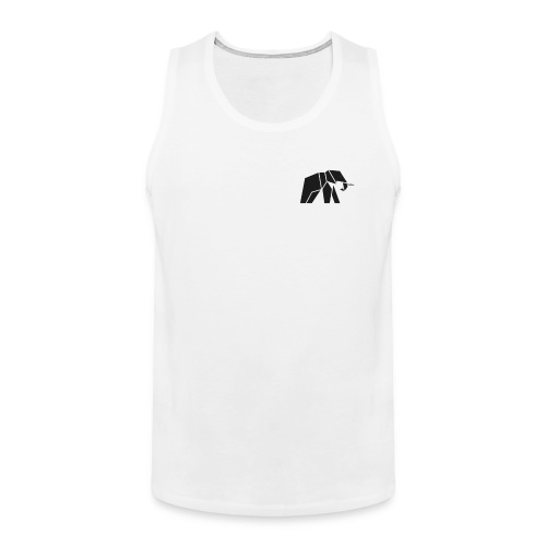 Schönes Elefanten Design für Elefanten Fans - Männer Premium Tank Top
