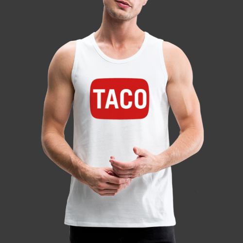 Taco Karsten Youtube Logo 2 - Herre Premium tanktop