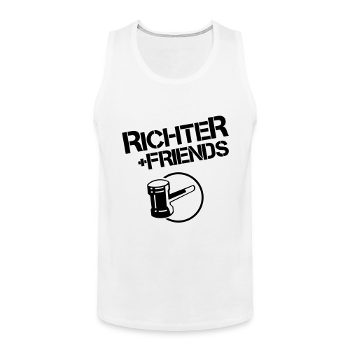 rf logo shirts - Männer Premium Tank Top