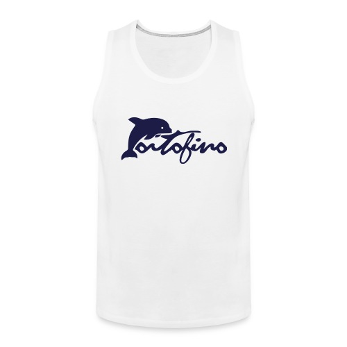 portofino 2019 NAVY - Men's Premium Tank Top