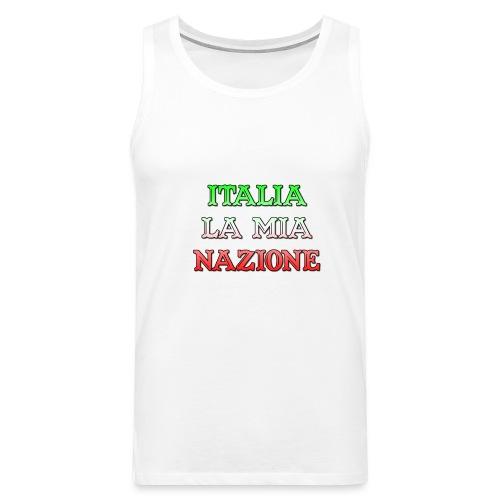 ITALIA LA MIA NAZIONE - Canotta premium da uomo