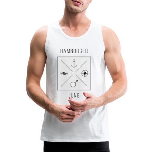 Hamburger Jung - Männer Premium Tank Top