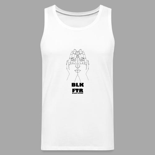 BLK FTR N°4 - Canotta premium da uomo