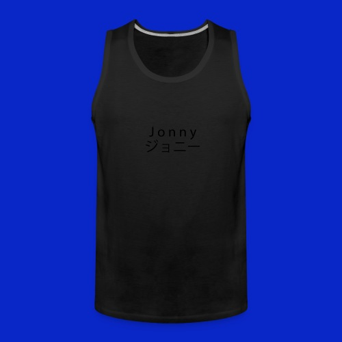 J o n n y (black) - Men's Premium Tank Top