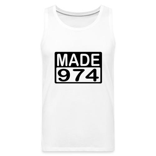 Made 974 - v2 - Débardeur Premium Homme
