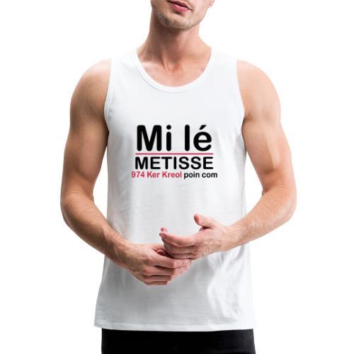 Mi lé METISSE - Débardeur Premium Homme