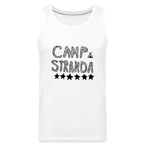 campstrandalogomedcampingmerke - Premium singlet for menn