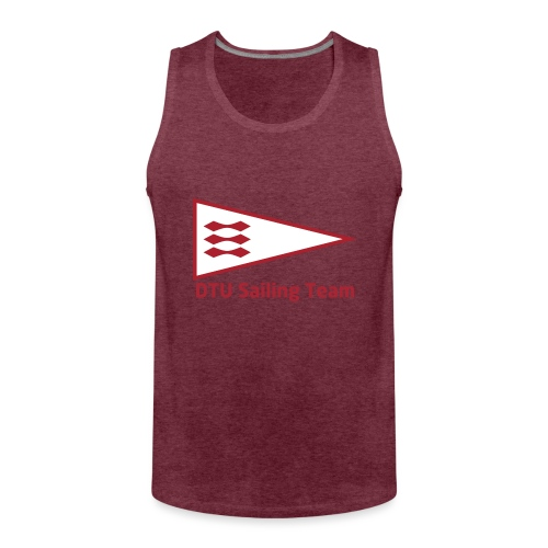 DTU Sailing Team Official Workout Weare - Men's Premium Tank Top