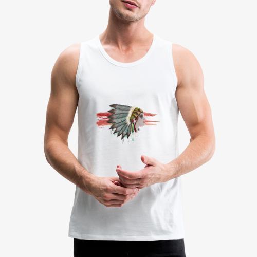 Native american - Débardeur Premium Homme