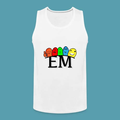 EM - Miesten premium hihaton paita