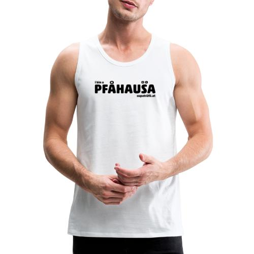 supatrüfö PFAUHAUSA - Männer Premium Tank Top