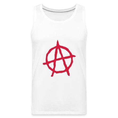 Anarchy Symbol - Men's Premium Tank Top