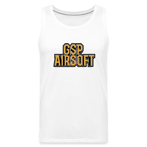 GSP Shirtdesign2 png - Männer Premium Tank Top