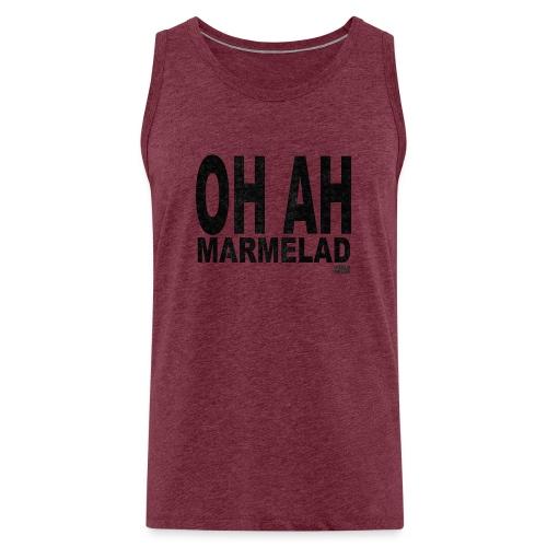 Marmelad5black - Premiumtanktopp herr