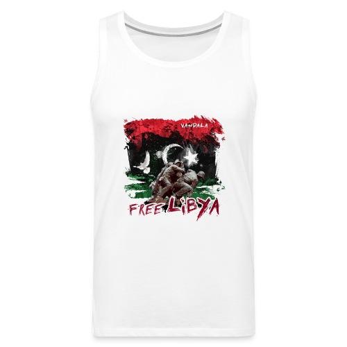 Free Libya - Männer Premium Tank Top
