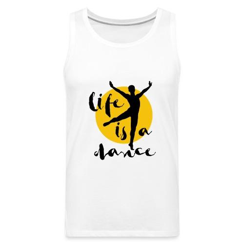 Ballett Tänzer - Männer Premium Tank Top