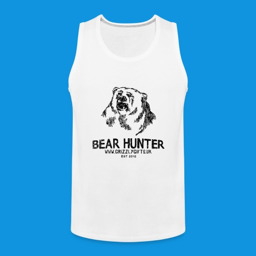 Bear Hunter tank - Men's Premium Tank Top