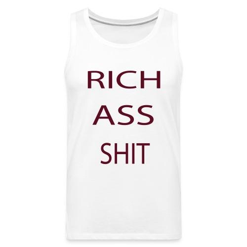 richasshit - Premiumtanktopp herr