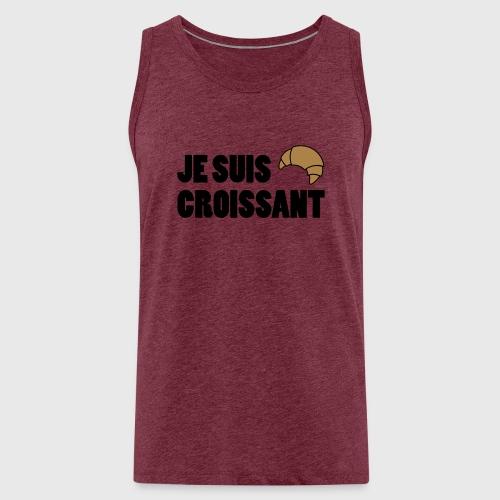 JE SUIS CROISSANT - Men's Premium Tank Top