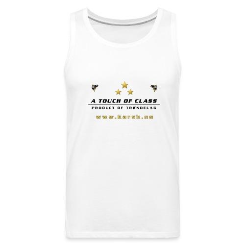 tskjorte01 - Premium singlet for menn