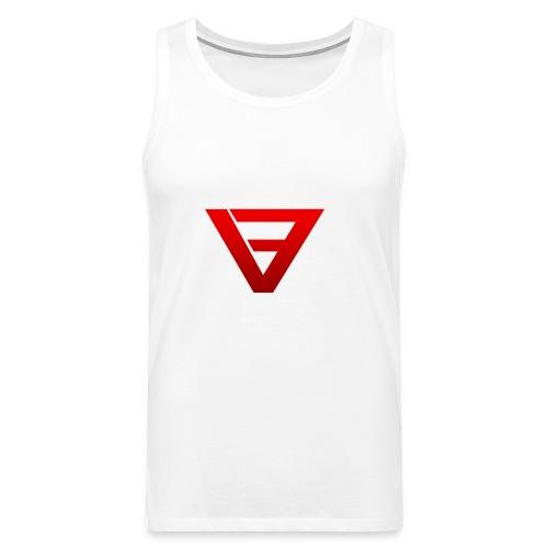 V9 Logo Red - Men's Premium Tank Top