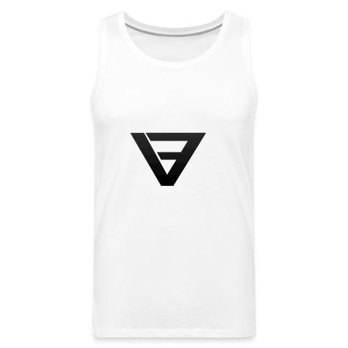 V9 Logo Black - Men's Premium Tank Top