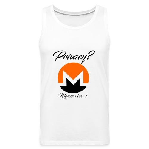 Moneroooo - Débardeur Premium Homme