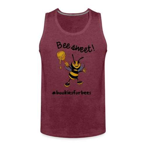 Bees7-1 Bienen sind süß | save the bees - Men's Premium Tank Top