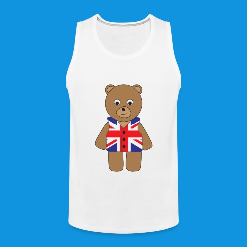 UK Bear tank - Men's Premium Tank Top