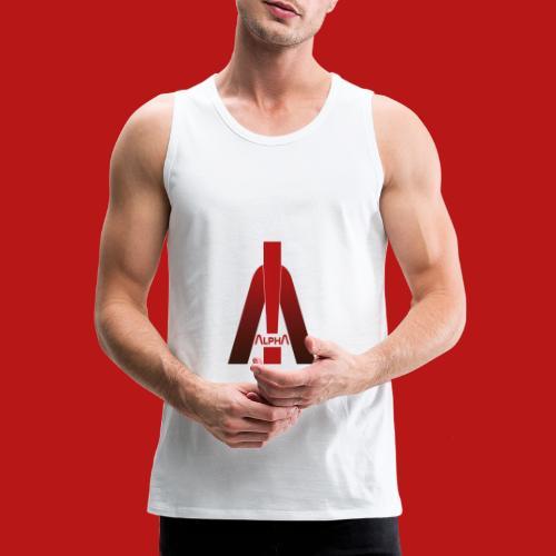 ALPHA - Winner wins! - Männer Premium Tank Top