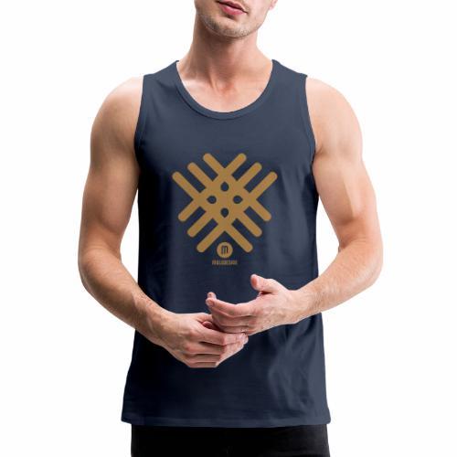 Maladesign - Miesten premium hihaton paita