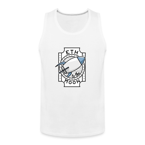ETH to the Moon - Männer Premium Tank Top